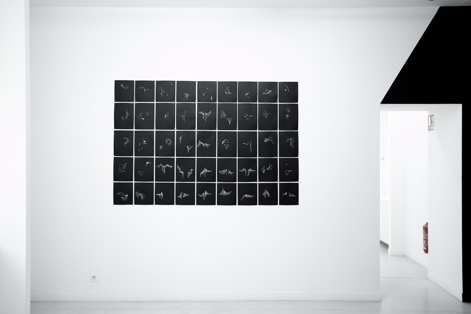 Installation de Sophie Pouille Exposition IMMERSION au CACL - mai 2015