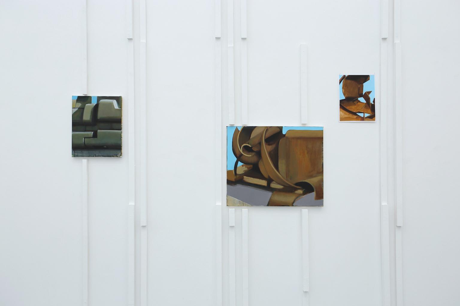 Installation de Jérémy Liron Exposition IMMERSION au CACL - mai 2015